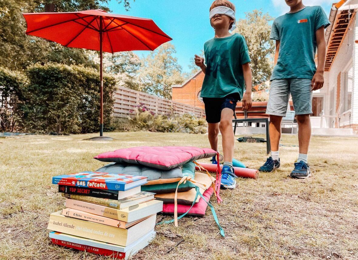 De grappigste tienkamp voor thuis met je kinderen