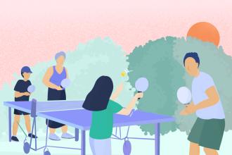 Les bienfaits du ping-pong chez les personnes âgées