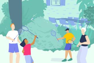 Badminton, billard, tennis de table : des bienfaits au service des séniors