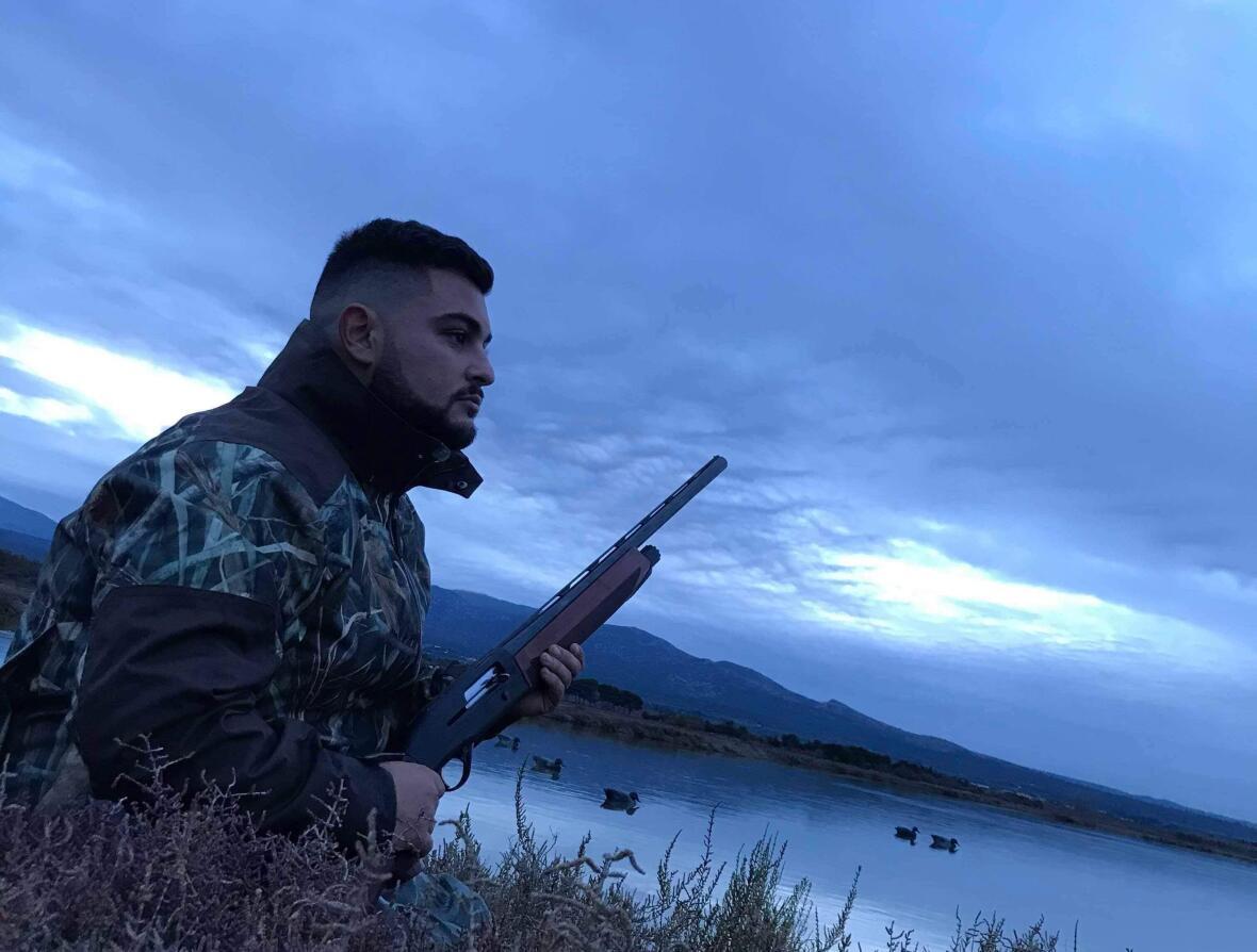 Axel chasse à la passée les canards