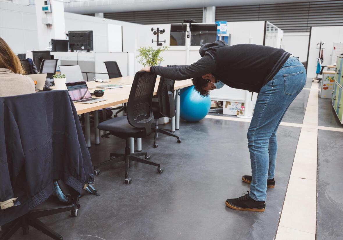 Comment faire du sport (discrètement) au travail ?