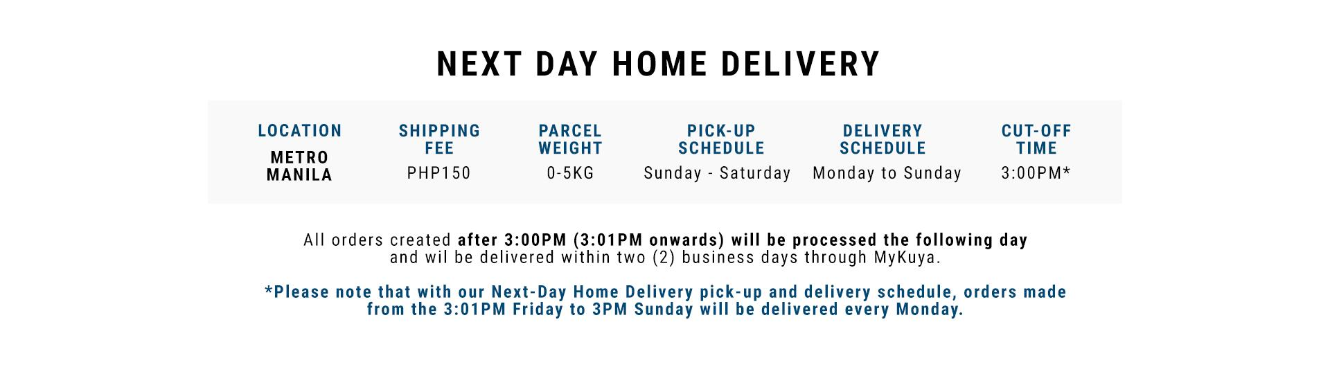 Decathlon Philippines Next Day Delivery