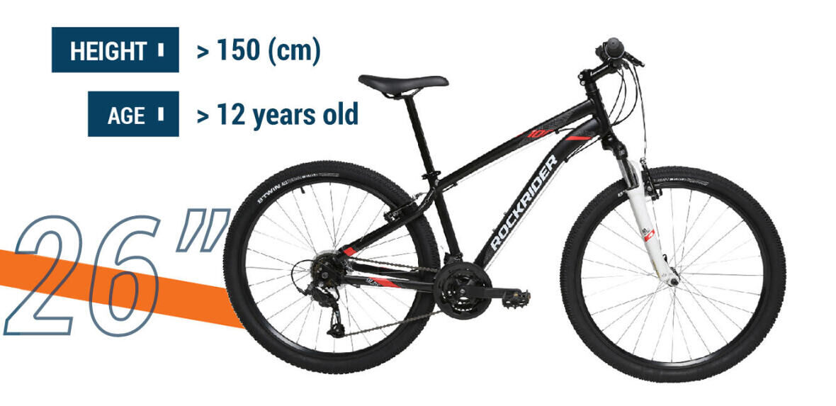 It's time to change to 26 inch bike