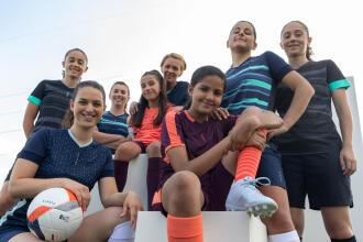Damesvoetbal bij Kipsta