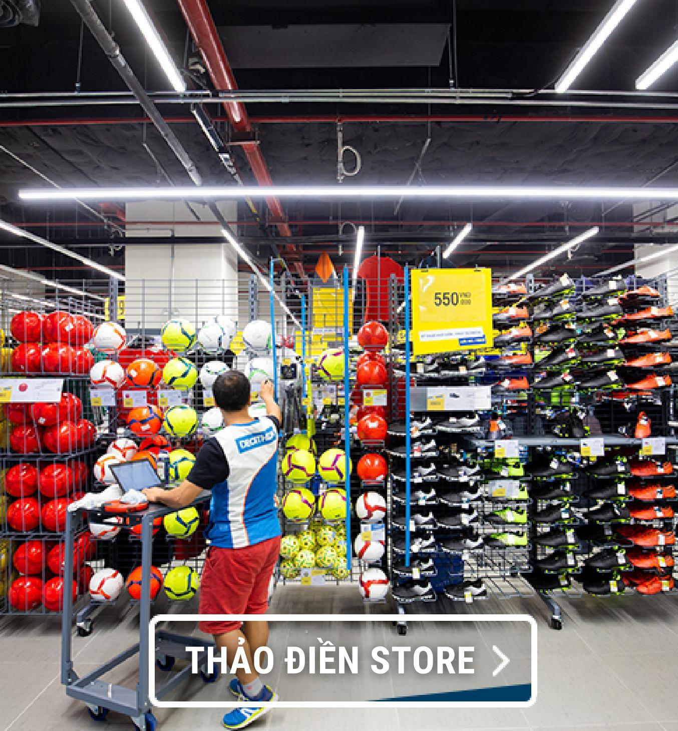 Click&collect, click and collect, partnership, delivery partner, thaodienstore, decathlon store