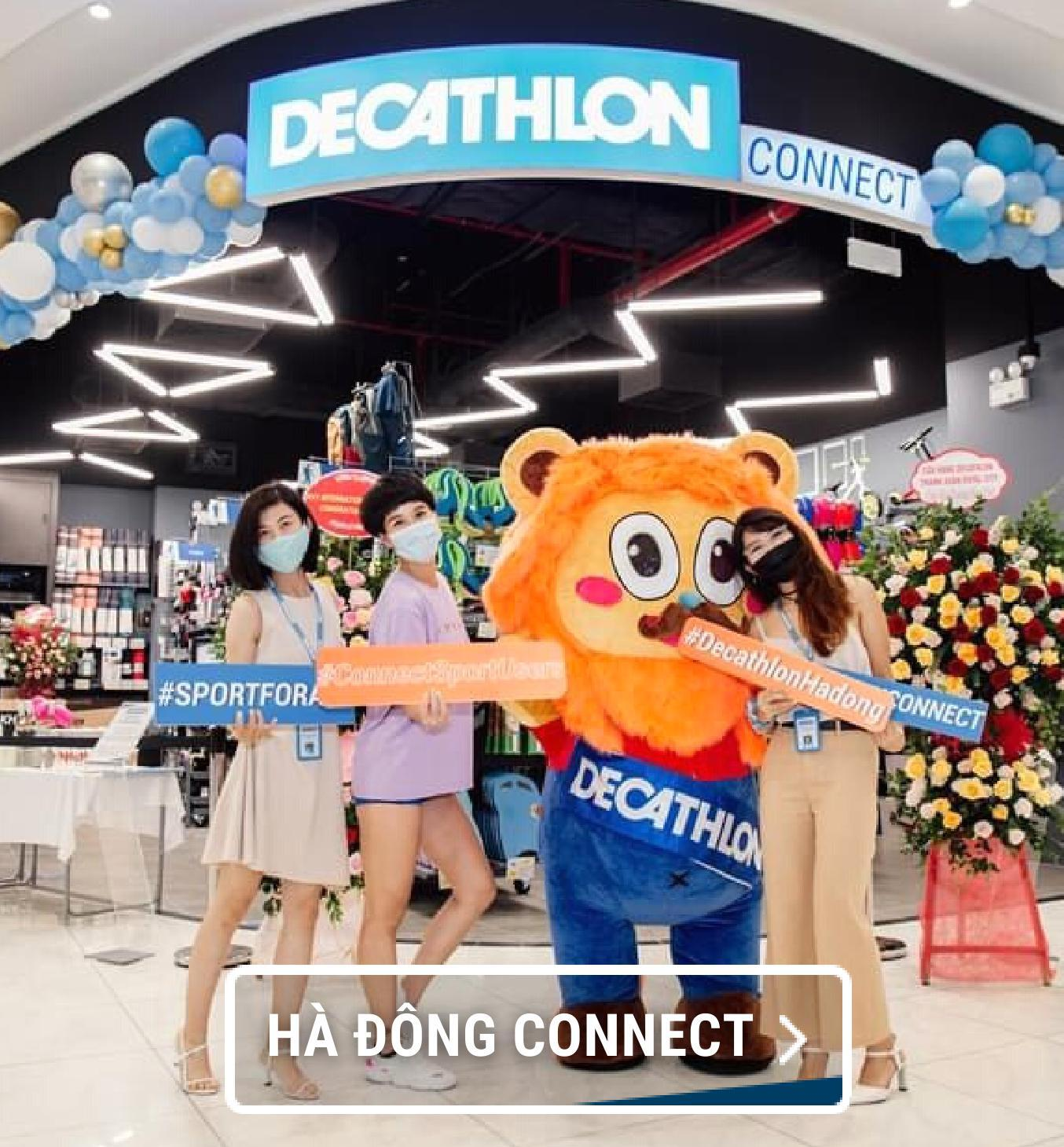 click & collect, đối tác giao hàng, decathlon connect