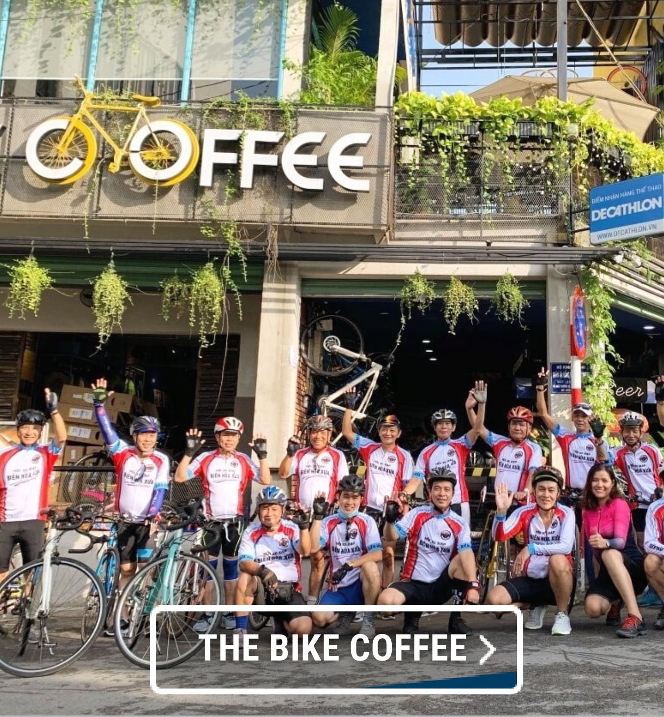 click & collect, đối tác giao hàng, the bike coffee, đạp xe, xe đạp, câu lạc bộ xe đa·