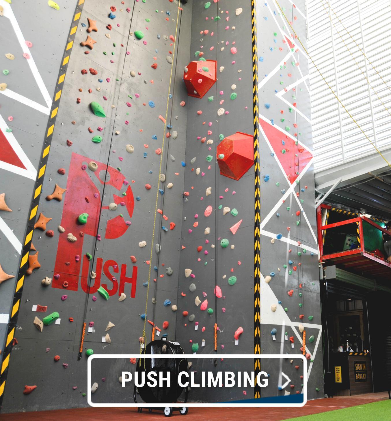Click&collect, click and collect, đối tác giao hàng, pushclimbing,leo núi, leo núi nhân tạo, leo núi quận 2