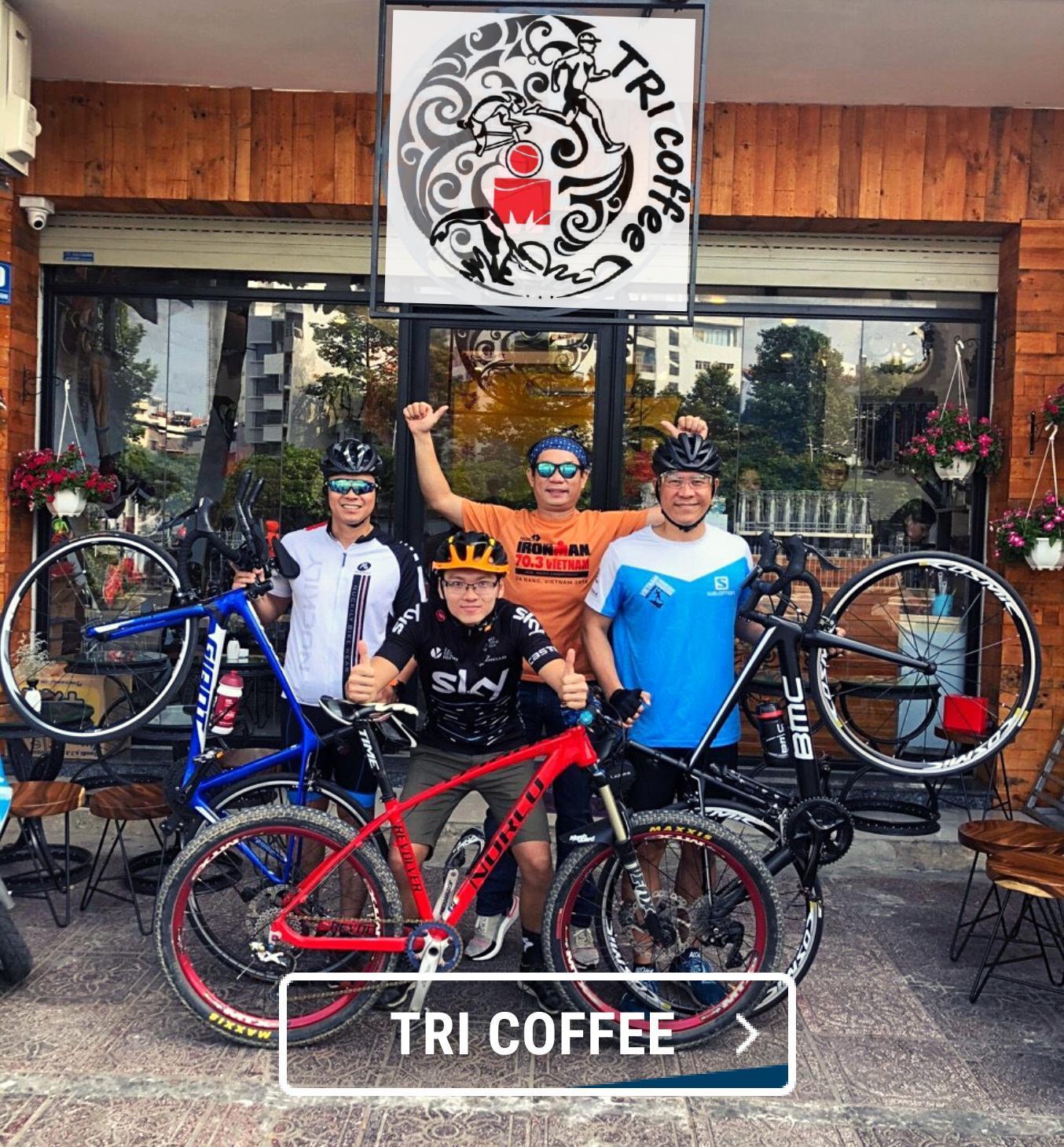 Click&collect, click and collect, đối tác giao hàng, tricoffee, tri cafe, chạy bộ, đạp xe
