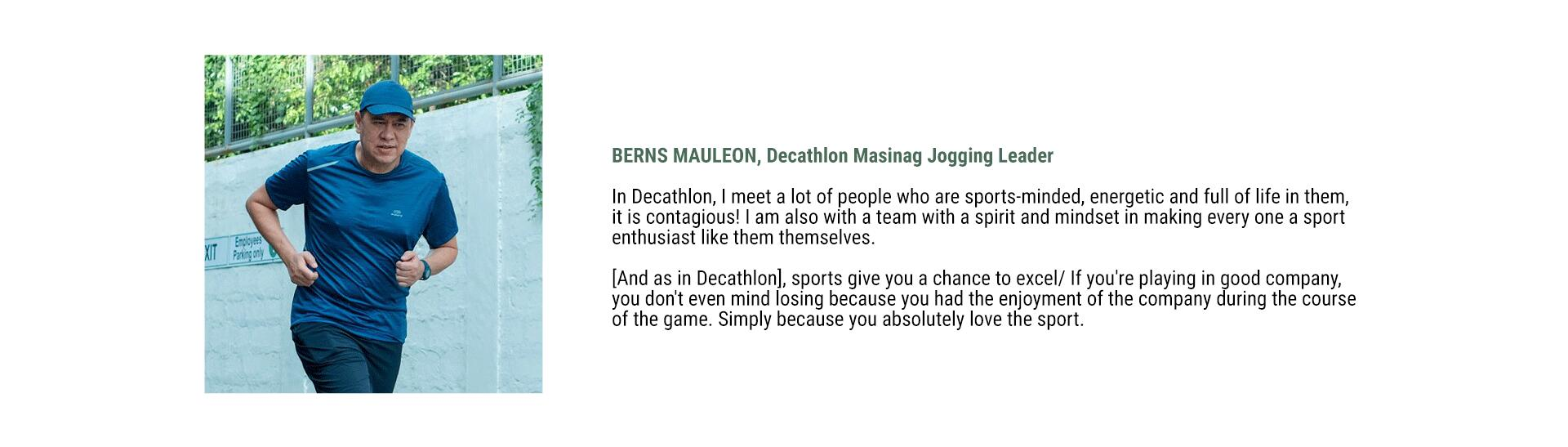 Decathlon Philippines Sustainability - Berns Mauleon