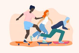 """« Le skate est émancipateur dans le sens où il est un moyen de se dire """"je suis capable"""" »"""